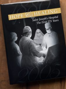 Book Design for Atlanta's Saint Joseph Hospital
