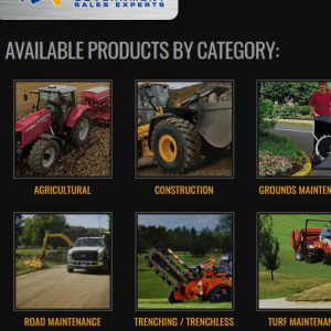 Website photos of equipment sold through government contracts