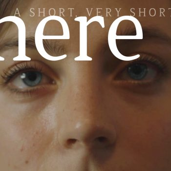 WHERE: A very short film about being alone.
