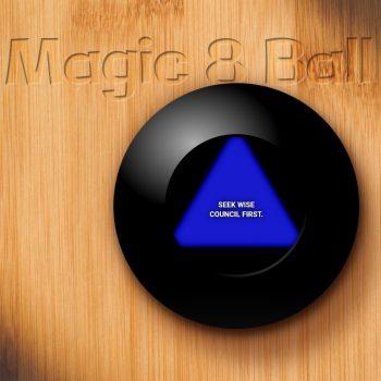 Magic 8 Ball, Online: A CSS Experiment, Tom Hinson Design, Atlanta